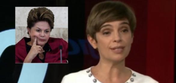 Âncora da Globo chama Dilma de ex-presidente