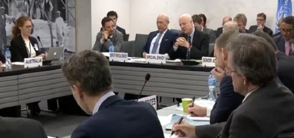 De mistura anuncia la reunion en Ginebra UNTV