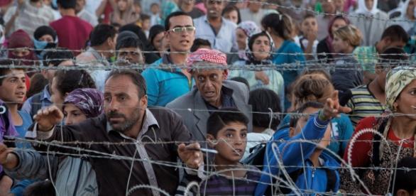 Frontera turca. National Geographic.