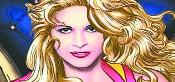 Joelma é desenhada como super-heroína em novo CD