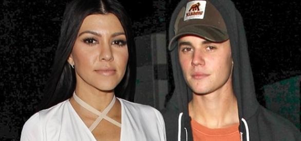 Kourtney estaria gravida de Justin Bieber