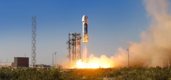 New Shepard Launch (Franke360 Wikimedia)