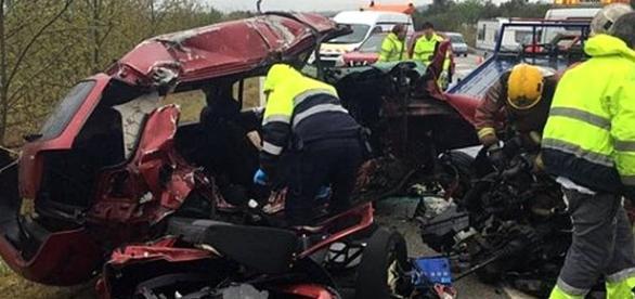 Acidente ocorreu na zona da Catalunha (Espanha)