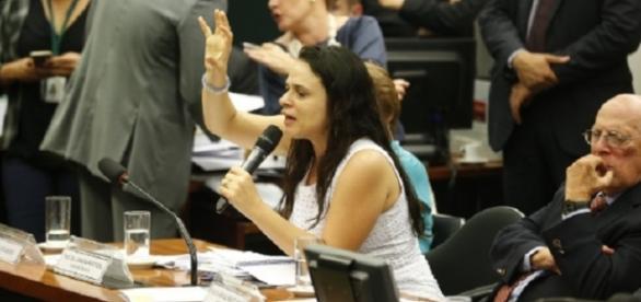 Argumentos a favor e contra pelos deputados da comissão.