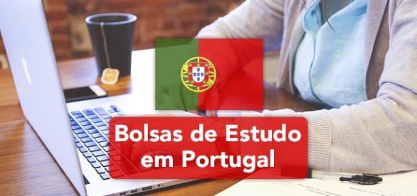 Bolsas de estudo abertas em Portugal.
