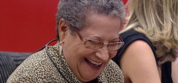 Geralda ri no 'Big Brother Brasil' - Foto/Reprodução