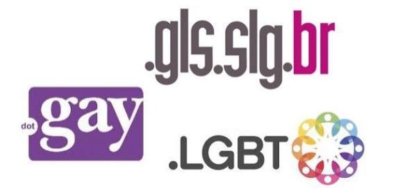 Sufixos da Comunidade GLS/LGBT