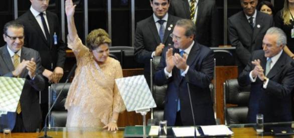 Presidente no Congresso Nacional - Imagem: Google