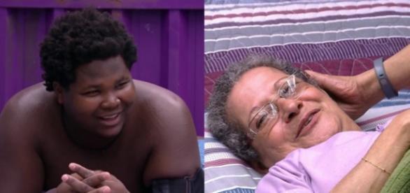Ronan e Geralda - Foto/Montagem: Globo