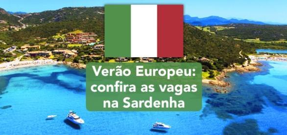 Vagas na Sardenha. Foto Reprodução Eskipaper.
