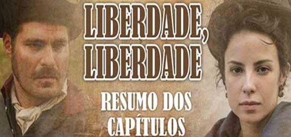 "Começa dia 11 a nova novela da Globo, ""Liberdade, Liberdade""Confira o resumo da semana!"