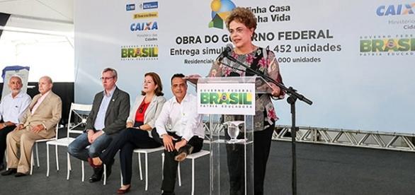 Dilma em evento no Rio de Janeiro