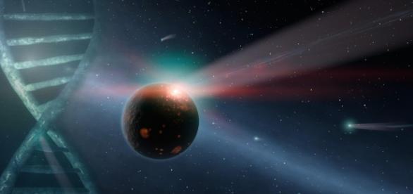 Evidências apontam que vida terrestre se originou no espaço
