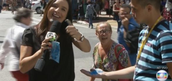 Senhora se revolta contra a Globo - Reprodução
