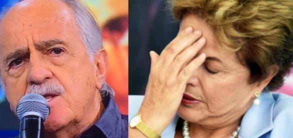 Ary Fontoura faz discurso contra Dilma