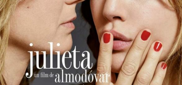Cartel promocional de Julieta, de Pedro Almodóvar