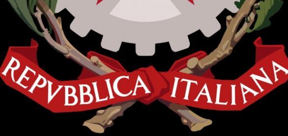 Emblema adottato dalla Repubblica Italiana nel 1948