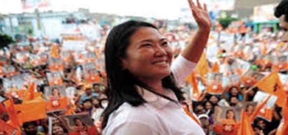 Keiko Fujimori dominó en la primera ronda