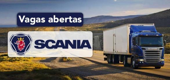 Vagas na Scania. Foto: Reprodução Scania.