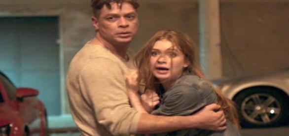Arthur e Eliza atores de Totalmente Demais da Rede Globo