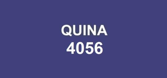 Concurso Quina 4056; Prêmio de R$ 1,8 milhão.