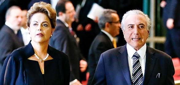 "Dilma Rousseff acusa vice de tramar ""golpe"""
