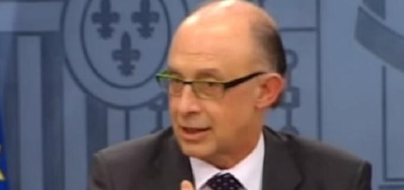El ministro de Hacienda Cristobal Montoro