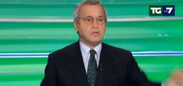 Mentana attacca Renzi in diretta tv