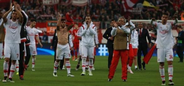 O Benfica perdeu o primeiro jogo contra o Bayern