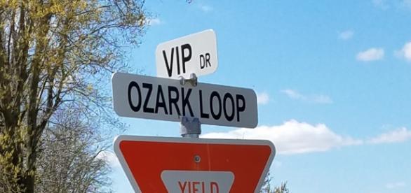 Road Signage at Ozark Christian College (Joplin, Missouri) [image via Flickr.com/otheaudacity/]