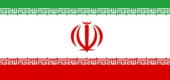 The flag of Iran via Wikimedia.org