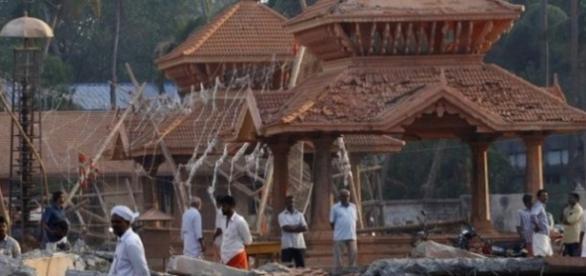 Muchos fallecieron en el derrumbe del edificio