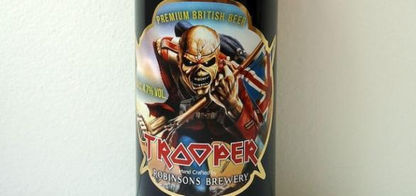 """Trooper"" la popular cerveza de Iron Maiden"