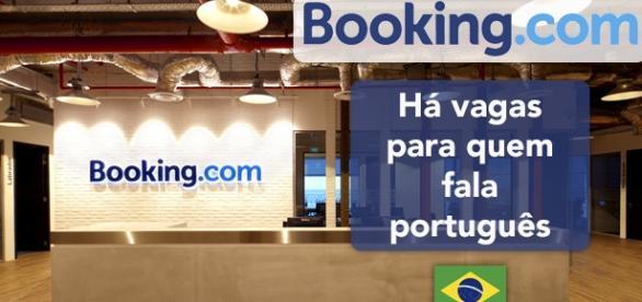 Vagas na Booking.com para fluentes em português - Foto: Reprodução Officesnapshots