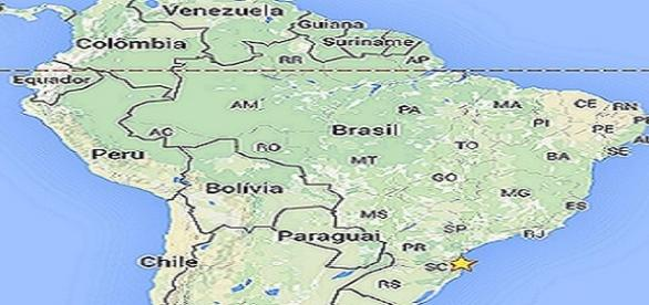 América do Sul - Visão parcial