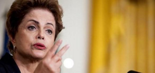 Dlma Rousseff faz discurso - Imagem do Google