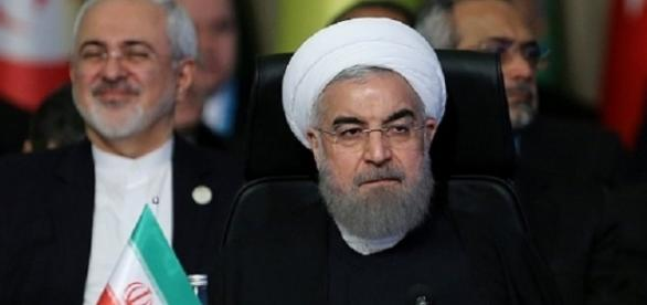 Iranian President Hassan Rouhani during meeting of OIC leaders in Turkey. (Credit: Iranian agencies)