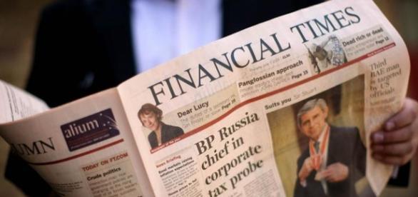 Jornal Financial Times é um dos mais respeitados do mundo