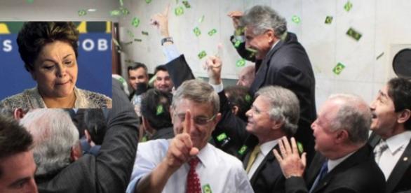 Oposição comemora vitória no impeachment