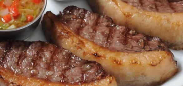 Picanha ao forno com sal grosso