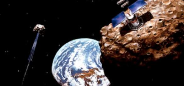 Asteroid mining (Credit: NASA)