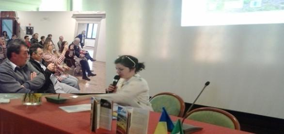 Claudia Bolboceanu, asistată de un public frumos