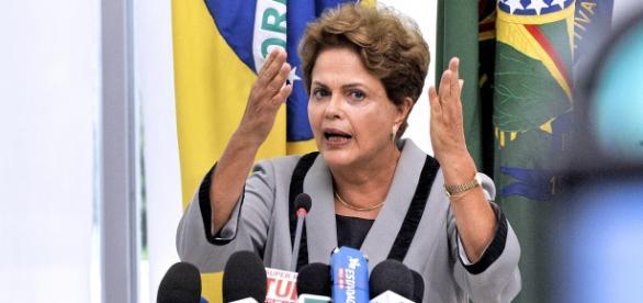 Dilma em entrevista (Jonas Pereira/Agência Senado)