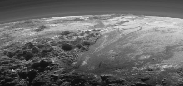 Pluto from New Horizons (NASA)