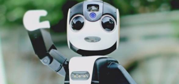 Robohon es un robot muy divertido.