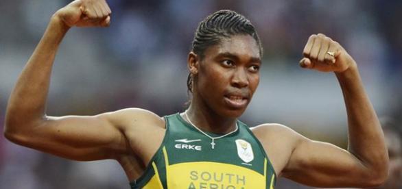 Caster Semenya logró las marcas olímpicas para Río en 400 y 800 metros