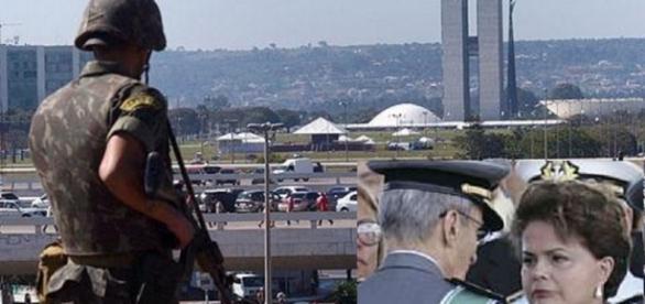 Dilma é acusada de planejar atentado