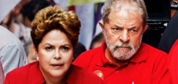 Dilma e Lula - Foto/Reprodução