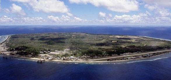 La nación de la isla de Nauru Australia