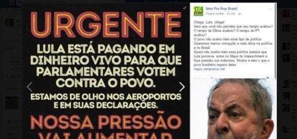 Movimento Brasil Livre faz grave acusação
